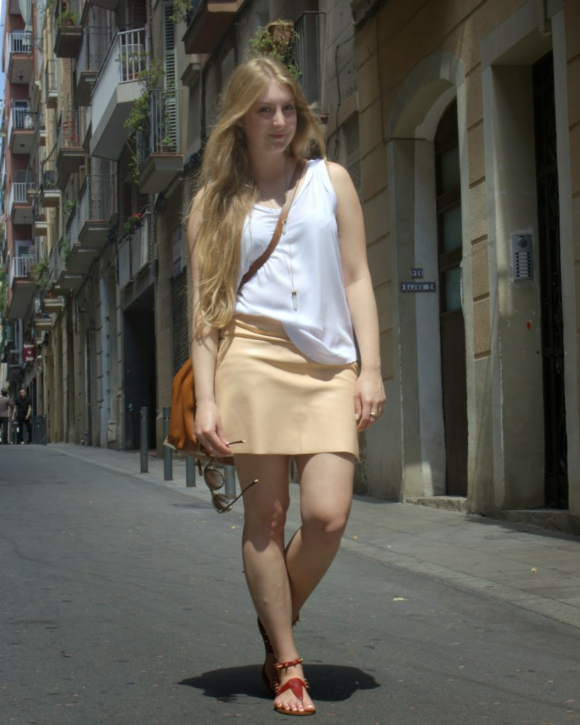 Summer in Barcelona's streets