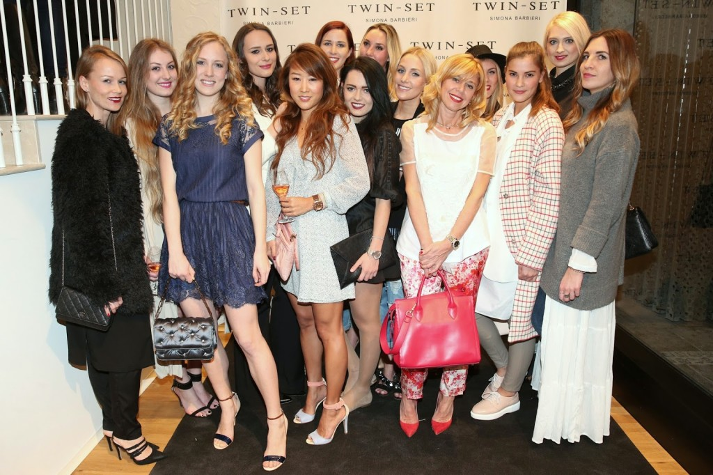 TWIN-SET Simona Barbieri Store Opening Munich