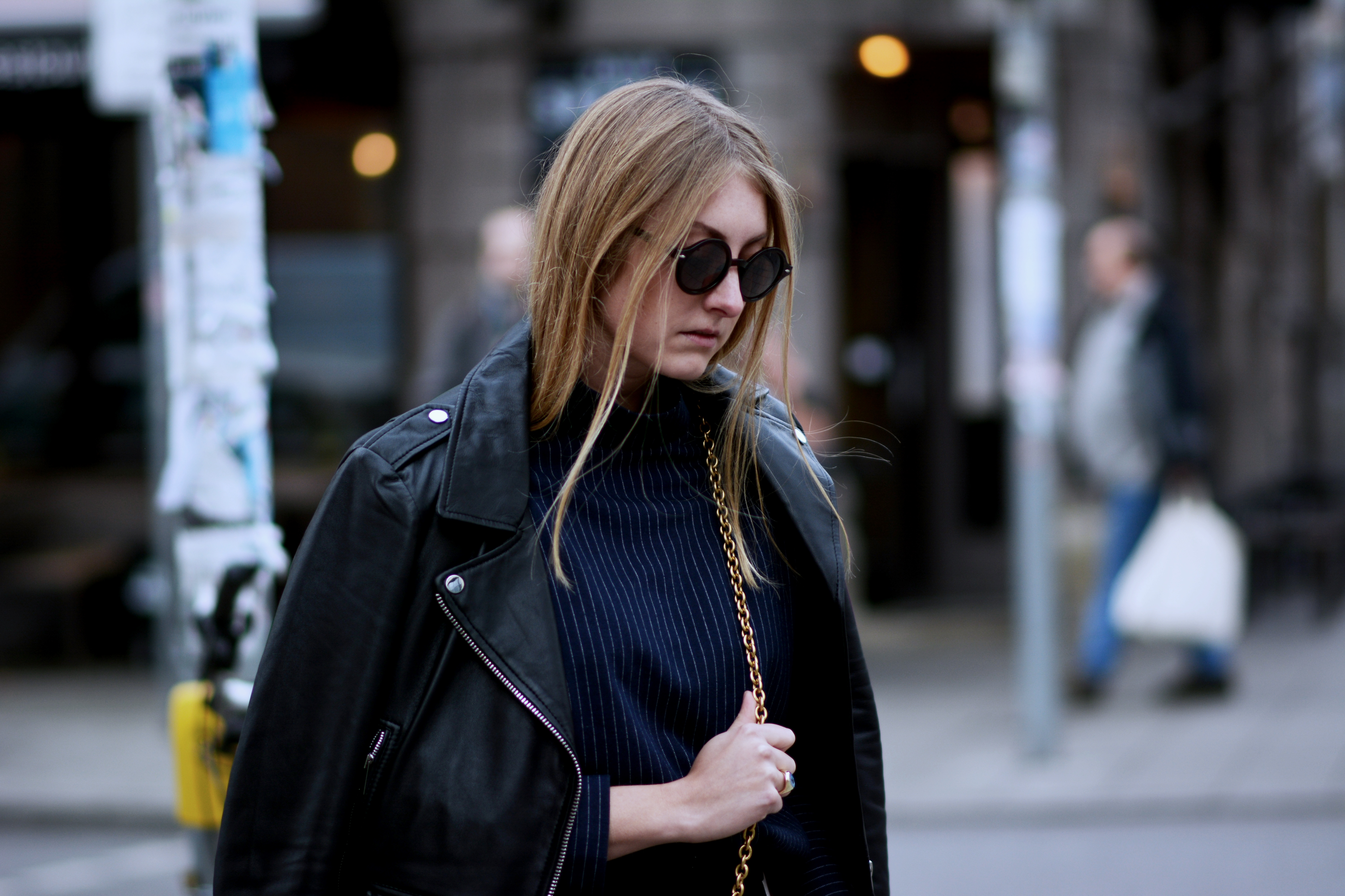 OUTFIT: LEATHER JACKET GOALS