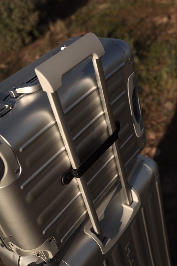 Hardware Koffer Aluminium silber Details