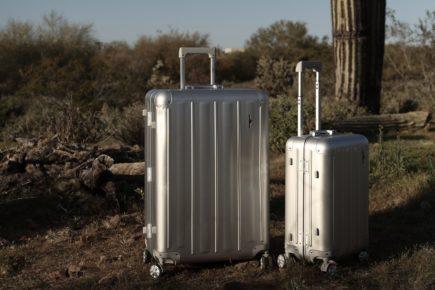 Hardware Koffer Set Aluminium S & L Header