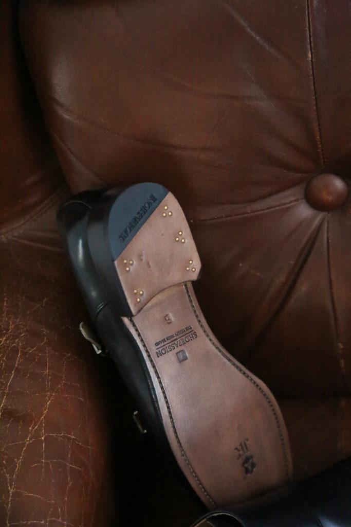 Shoepassion Ledersohle Rahmengenäht Detail