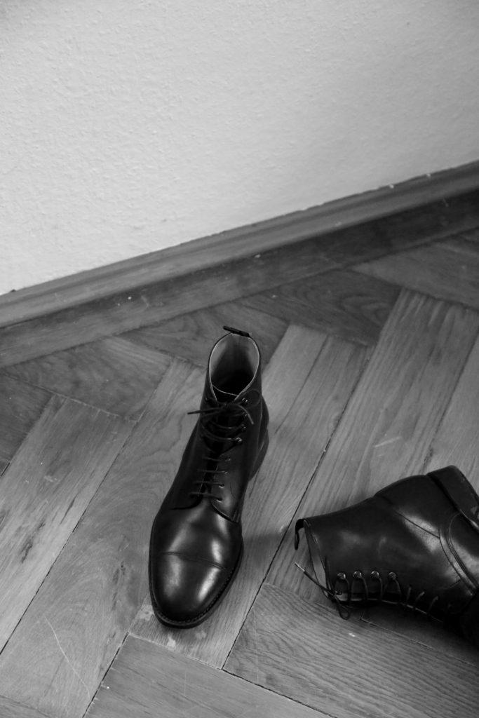 N 624 Lederstiefel Rahmengenäht Shoepassion