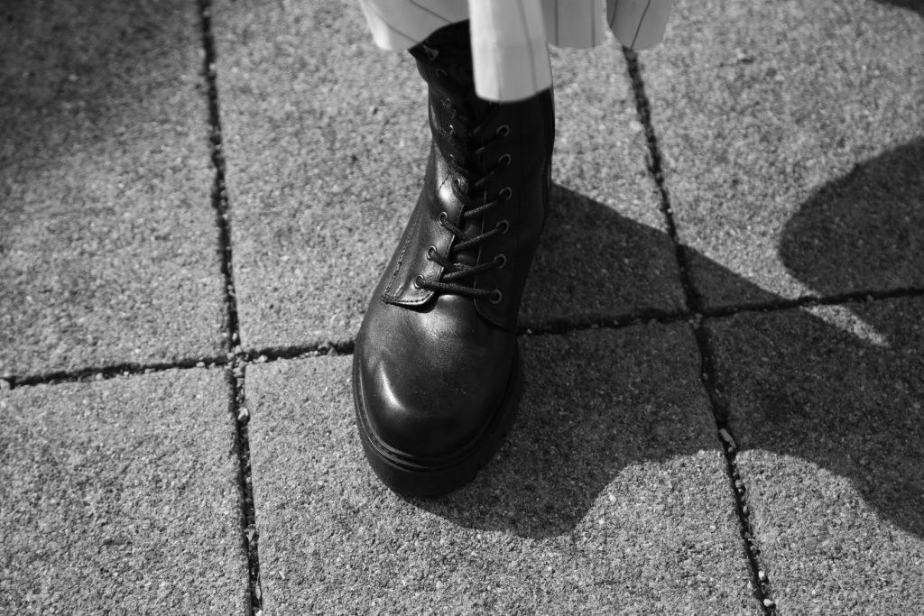 Schnürstiefel aus Leder für den Herbst